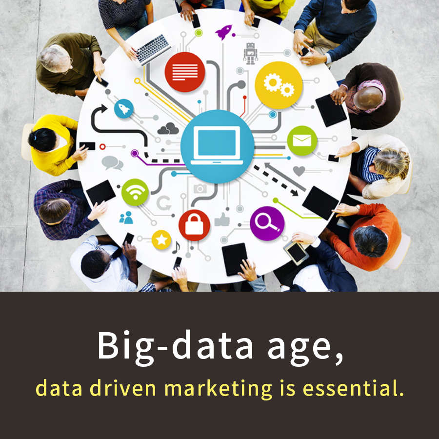 Big data age, data driven marketing is essential